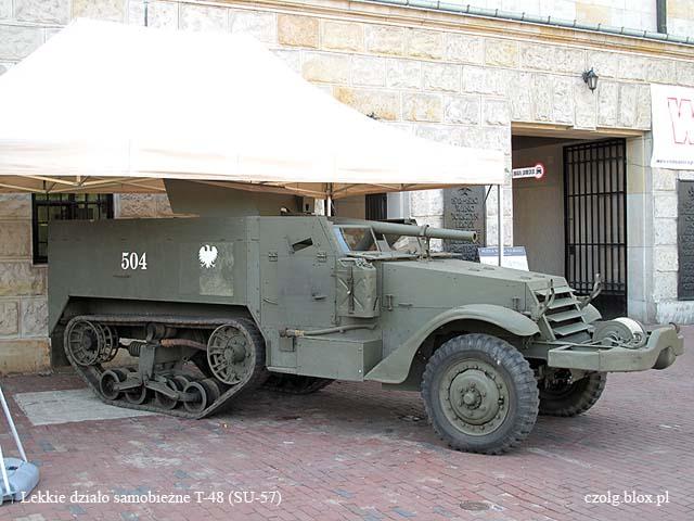 M3 T-48 (SU-57) - lekkie działo samobieżne